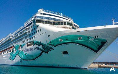 El Norwegian Jade viaja al Caribe
