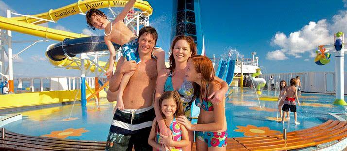 Conoce las atracciones de los mejores cruceros para viajar con niños