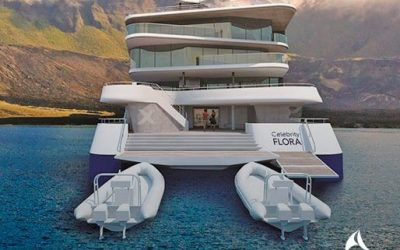 Celebrity Cruises celebra la colocación de la quilla de su nuevo buque Celebrity Flora