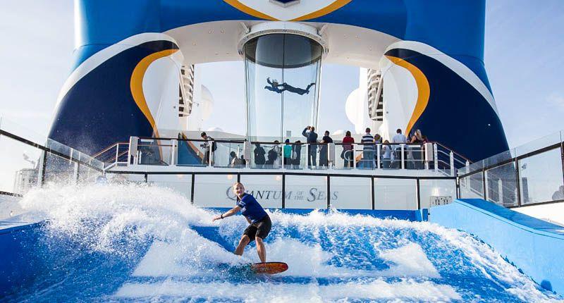 6 increíbles deportes de aventura que puedes hacer a bordo de un crucero