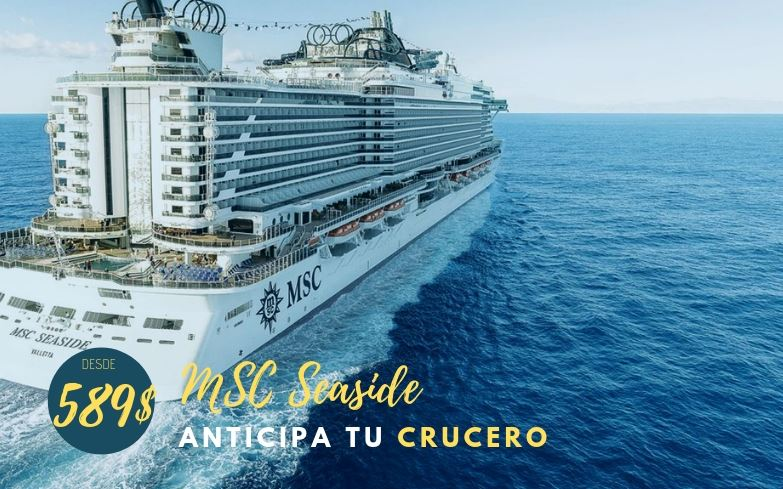 Crucero por el Caribe a bordo del MSC Seaside
