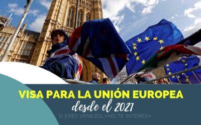 A partir del 2021 los venezolanos necesitaremos visa para viajar a cualquiera de los 26 países de la Comunidad Económica Europea