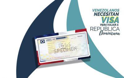 Ahora los venezolanos necesitan Visa para viajar a República Dominicana