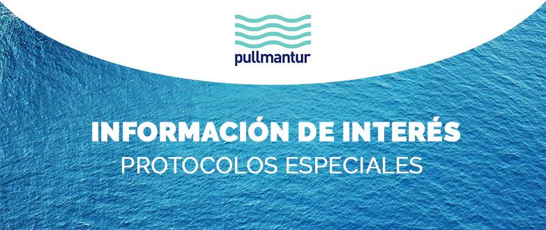 Protocolos Especiales de Pullmantur en relación al Coronavirus
